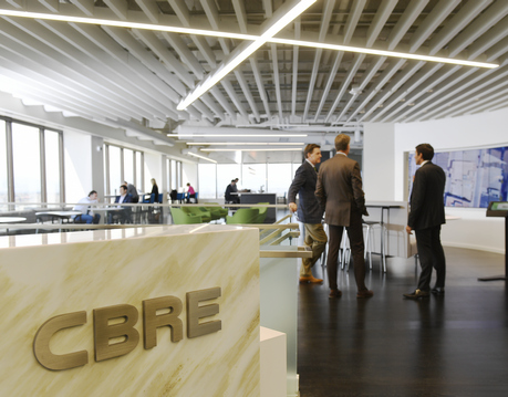 The commercial real estate firm CBRE