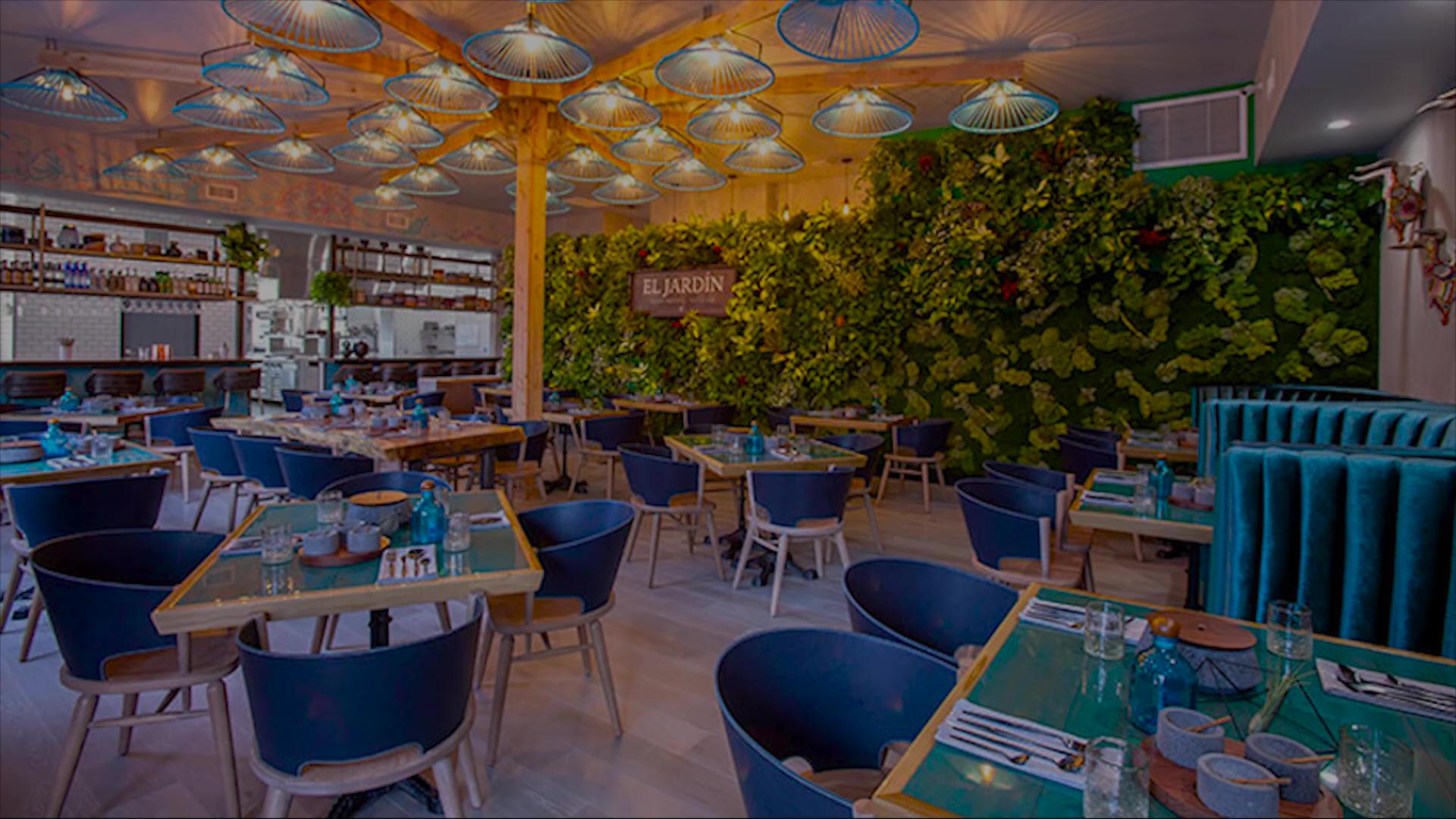 How indoor plants are taking over restaurants