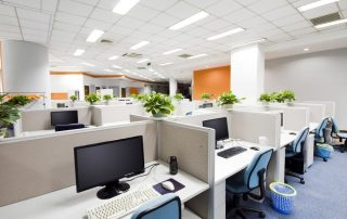 Office interior design with a mood boost