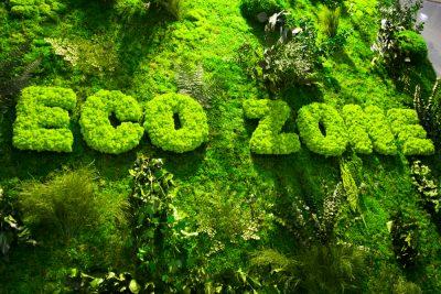 Custom Moss Lettering